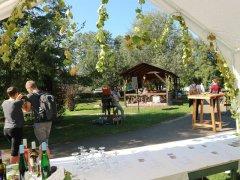 1.Weinfest mit Musik von Kathrin Clara Jantke, September 2019
